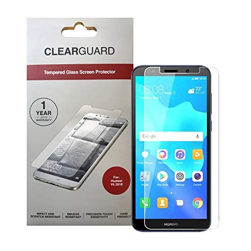 Zagg Clearguard Tempered Glass Screen Protector for Huawei Y6 2018 Clear