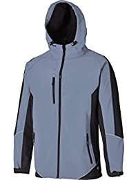 "Dickies JW7010 KHB3XL Size 3X-Large ""Two Tone"" Softshell Jacket - Khaki/Black"