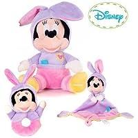 Preisvergleich für Disney Minnie Mouse Rabbit Ears Comfort Baby Set
