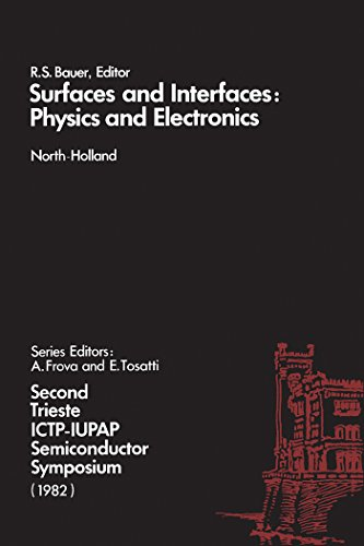 "Surfaces and Interfaces: Physics and Electronics: Physics and Electronics - Symposium Proceedings: 2nd (""Surface Science"")"