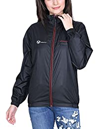 VERSATYL Jacket for Girls/Women Ladies Casual Jackets Wind Cheater Winter Wear Jackets in Black, Blue and Grey Colour (S-XXXL)