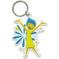 Inside Out Disney Pixar Joy Rubber Keychain by Disney