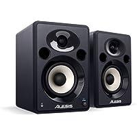 Alesis Elevate 5, Casse Monitor Attive da Scrivania Biamplificate con Audio di Qualità, Ottimi per Film, Gaming, Musica e Produzione Multimediale, 120 W Picco, Coppia