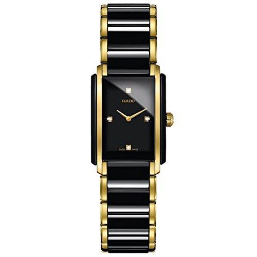 Rado Integral Damen-Armbanduhr Diamant Armband Keramik Batterie R20845712