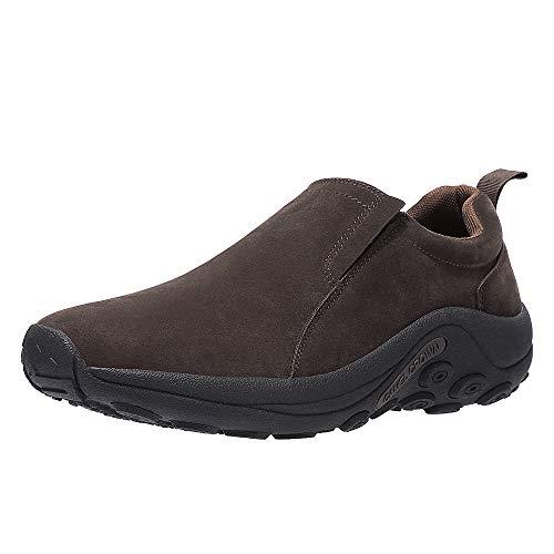 CAMEL CROWN Mocasines Hombre Piel Zapatos sin Cordones