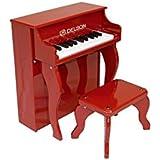 Delson 2505R Piano droit pour enfant Rouge