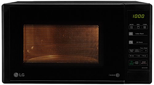 LG-20-L-Grill-Microwave-Oven-MH2044DB-Black