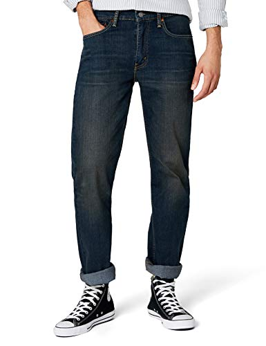 Levi's Herren Straight Leg Jeans 514 Straight Fit, Blau (COVERED UP 542), W30/L34 (Herstellergröße: W30/L34) (Relaxed Mens Fit Jeans Fashion)