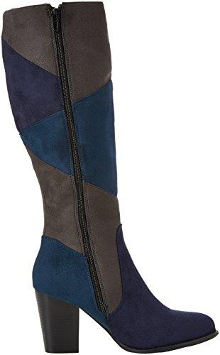 multicolore Stivali Lunghi Racey Souples Multicolore Marroni Femme Retrò Bottes Joe OHq17wH
