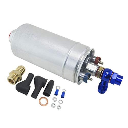 Externe Kraftstoffpumpe 044 OEM: 0580 254 044 Poulor 300lph + Adapterbeschlag -