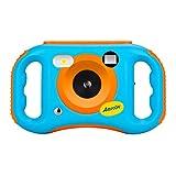 Omiky® WiFi Digital Kamera für Kinder Kinderkamera mit Wiederaufladbare Batterien 500 Millionen Pixel 1,77-Zoll-Farbbildschirm,Geschenk (Blau)