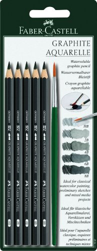 faber-castell-graphite-aquarelle-5-grades-pencils-with-brush
