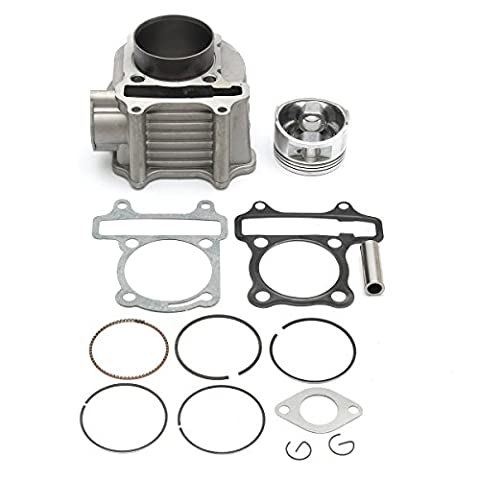 150 cc GY6 piston Pin Engine Cylinder assembly kit Scooter Moped ATV Bike GoKart