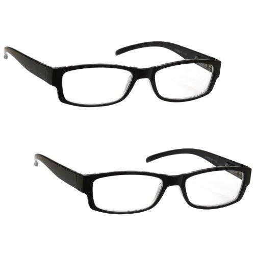 La Compañía Gafas De Lectura Negro Ligero Cómodo
