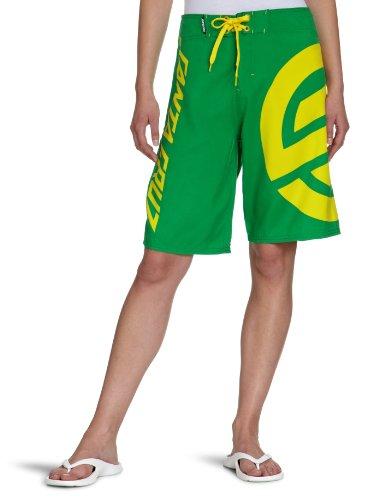 Santa Cruz-Boxer a tinta unita XL Knot, Unisex, Boardshort XL Knot, Verde - Fern Green, (36 Di Santa)