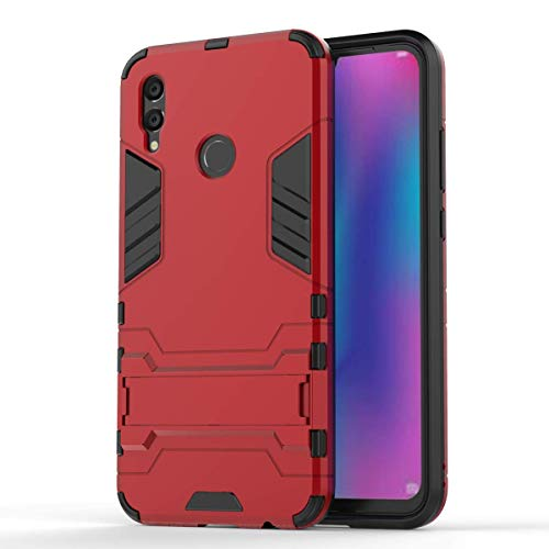 f4105242f80 KISCO para Funda Huawei P Smart 2019,TPU y PC Híbrida Armadura Antigolpes  Cover de