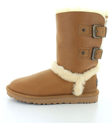 Ugg Australia Womens Skylah Leather Boots Noisette
