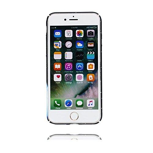 iPhone 6s Plus Custodia, Ultra sottil TPU Case Cover Shell Semplice Progettato per iPhone 6S Plus / 6 Plus Copertura (5.5 pollici), prova antipolvere della prova di polvere ( Cartoon Stripe ) color 4