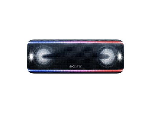Sony SRSXB41B - Altavoz portátil Bluetooth (Extra bass, modo sonido live, party booster, luces de fiesta llamativas), color negro