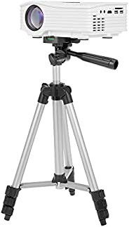 "STB-3110 35-102cm Portable Aluminum Alloy Tripod Travel Projector Stand,1/4"" Screw Hole Holder for Phone"