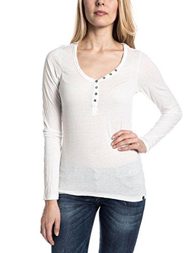 Timezone PetraTZ, T-Shirt Donna, Bianco (Pure White), M