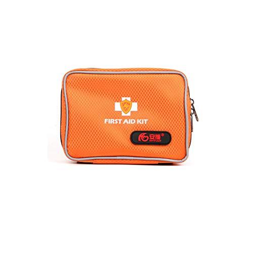 Hausapotheke-kit (medikamenten box hausapotheke,Thunder Medical Outdoor Erste-Hilfe-Set Reise Tragbare Notfall-Kit Familie Auto Auto Wasserdichte Medical Bag Set,Orange)