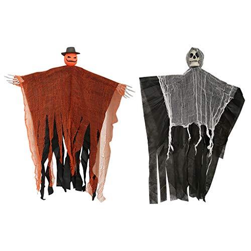 Myspace 2019 Neueste Dekoration für Halloween Gruselige beängstigende lebhafte - Beängstigende Kürbis Kostüm