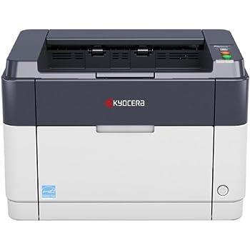 KYOCERA 1102M23NLV - Impresora láser monocromo (20 ppm, USB, pantalla LED), blanco y gris