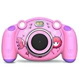 Campark Kids Camera HD Digital Children Camcorders 2 inch Screen with Flash, Mic