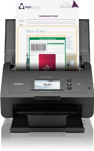 Brother ADS-2600W Dokumentenscanner (1200 x 1200 dpi, USB 2.0) schwarz