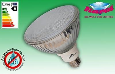 Energiesparlampe Reflektor - PAR 38 E27 - 20Watt / Ersatz für 100 Watt