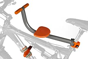 TYKE TOTER Front Mount Child Bicycle Seat (Age 2-5 yrs., Weight Limit 45 Lbs.)