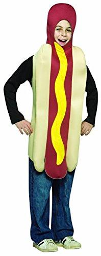 tüm - Alter 7 bis 10 (Hot Dog Kostüm Für Kinder)