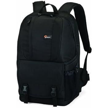 "Lowepro Fastpack 250 Backpack for SLR Kit, 15.4"" Notebook and General Gear - Black"
