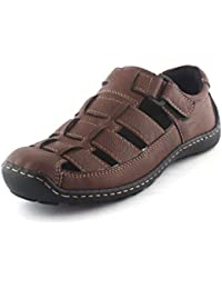 [Sponsored]Albertiano Rottoraller Men's Sandal And Floaters (Brown Color)