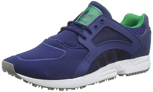 adidas Originals Racer Lite, Unisex-Erwachsene Sneakers, Blau (Oxford Blue F15-St/Oxford Blue F15-St/Green), 46 2/3 EU (Oxford Adidas)