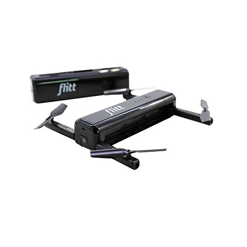 Nrpfell Flitt 720P WiFi FPV Optischer Fluss Positionierung Faltbare Tasche Portable RC Drone Quadcopter (Portable Battery Chager)