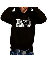 Coole-Fun-T-Shirts Herren Sweatshirt THE GODFATHER HOODIE