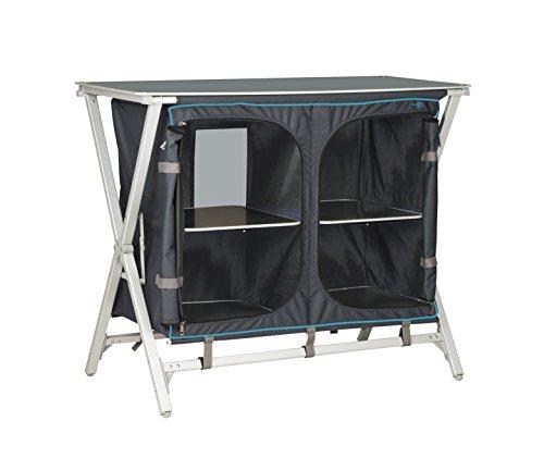 Bo-Camp Solid Deluxe| Mueble de cocina Antracita 100x50x82cm
