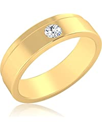 IskiUski The Theimis Diamond Ring 14Kt Swarovski Crystal Yellow Gold Ring Yellow Gold Plated For Women