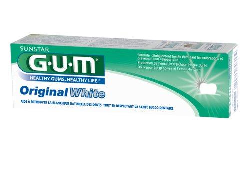 GUM Original White Zahncreme 75ml, DOPPELPACK (2x 75ml)