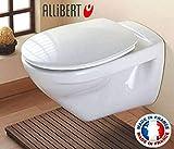 Allibert-197654-WC-Sitz de Toilette Handyschalen-System Easy Click-weiß-548