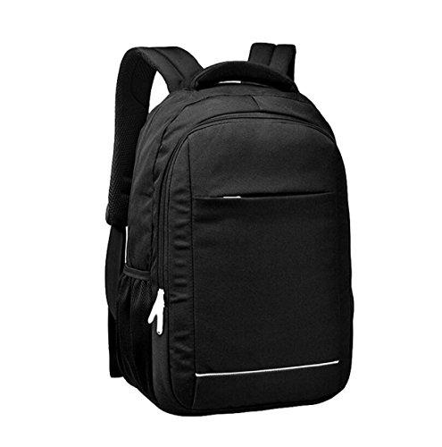 Lässige Schultertasche Männer Und Frauen Laptop Tasche Reise Rucksack Im Freien Einfache Wilde Wasserdicht Black
