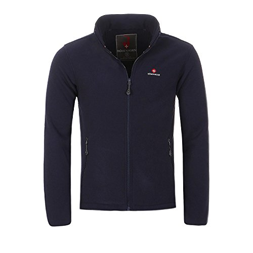 Navy Blue Jacke Fleece (Höhenhorn Badus Herren Fleece Jacke Navy Gr. XXL)