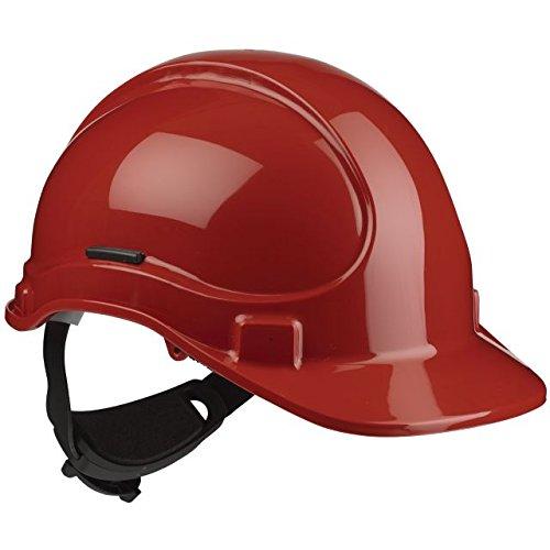 Scott sicurezza HC335/R cricchetto casco con Terry SB, non ventilato, rosso