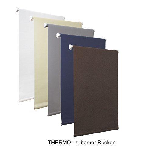 Tenda a rullo oscurante, senza fori, marrone, diverse misure, tessuto, marrone, 70x150cm