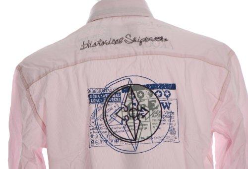 ARQUEONAUTAS -  Camicia Casual  - Maniche lunghe  - Uomo Rosa