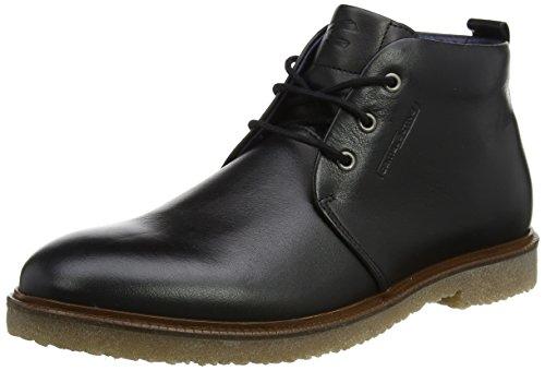 camel active Herren Palm 11 Desert Boots, Schwarz (Black), 45 EU (Akzent-stiefel)