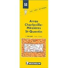 Carte routière : Arras - Charleville - St-Quentin, N°53