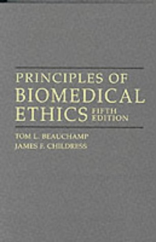 Principles of Biomedical Ethics par Tom L. Beauchamp